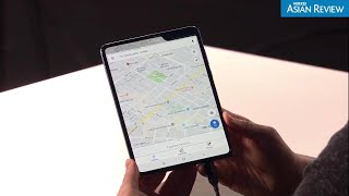 Samsung's new foldable phone unveiled