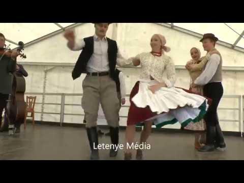 Letenye Béci hegyi búcsú - Bazseva zenekar és az Állami Népi Együttes táncosai