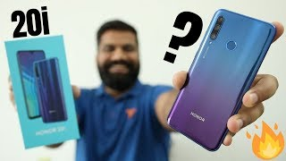Honor 20i Unboxing & First Look - 32MP Selfie, Triple AI Camera & More🔥🔥🔥
