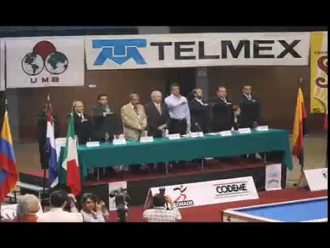 Copa del Mundo Billar Carambola 3 Bandas Mexico