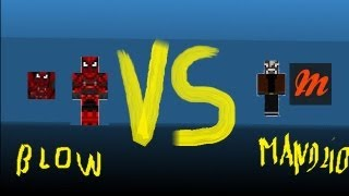 MINECRAFT - BLOW VS MANDZIO sezon2 .- Poprawa mapki