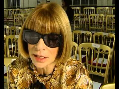Anna Wintour talks about London and fashion