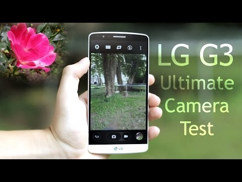 LG G3 Ultimate Camera Test (4k Video and Photos)