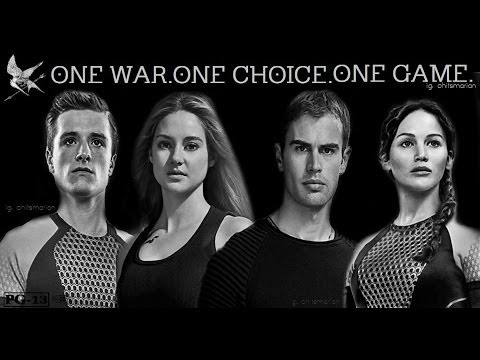 The Divergent Games - Trailer (The Hunger Games and Divergent meet)
