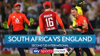 DRAMATIC last-ball win takes England to a decider! | South Africa vs England | 2nd T20 I Highlights