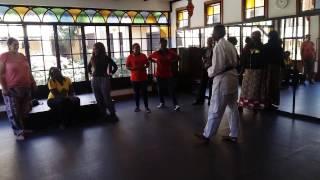 Caroline Tolo Karate demo/Women in Sports,arts and Culture  2017