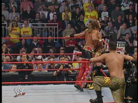 Hulk Hogan & Shawn Michaels vs. Muhammad Hassan & Daivari 2/4
