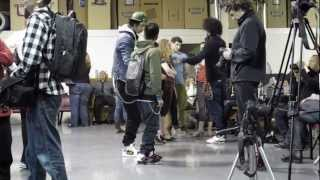 Les Twins Workshop in SF 7/7 - Larry and Laurent after class