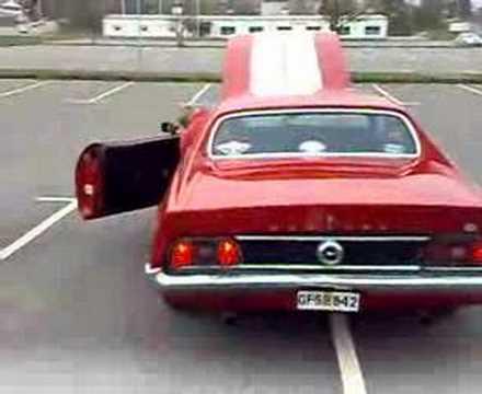 Ford Mustang 71 351 C 4 V Youtube