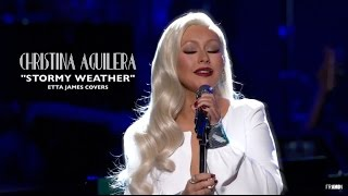 Christina Aguilera Stormy Weather Etta James S 2017