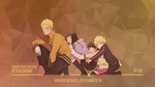 Never Change Nightcore Lyrics+ Naruto Shippuden END 30 REQUEST HIGH