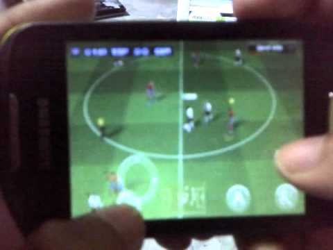Review game real football 2011 for Samsung Galaxy mini 2.3.4