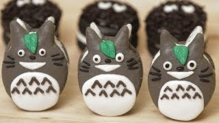 TOTORO MACAROON COOKIES - NERDY NUMMIES