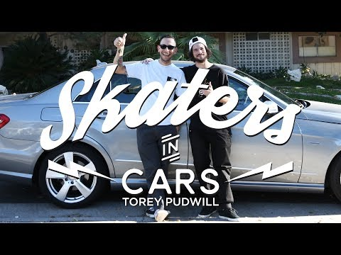 Skaters In Cars: Torey Pudwill