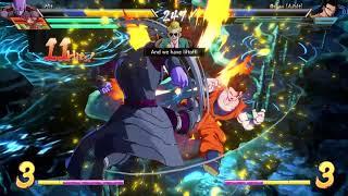 DRAGON BALL FighterZ casual (me ryoncat) vs dragatonwarrior