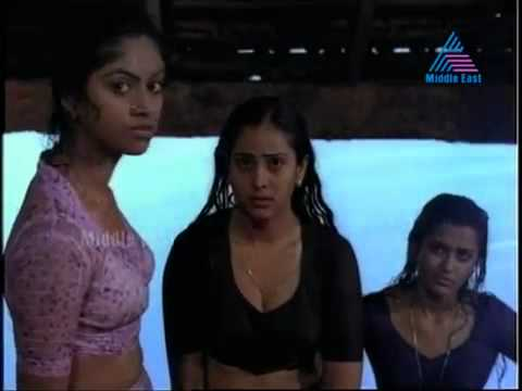 Hot Mallu Actress Nadiya Moidu And Geetha Nude Bath In A Public Pond Their Body Parts Are Clearly Vi video