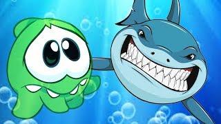 Om Nom Stories - SHARK V/S Om Nom   Cartoon for Kids   Om Nom Hindi