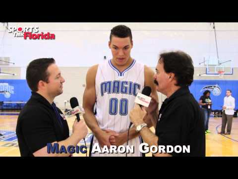 Orlando Magic Rookie Aaron Gordon On His Role Magic Media Day