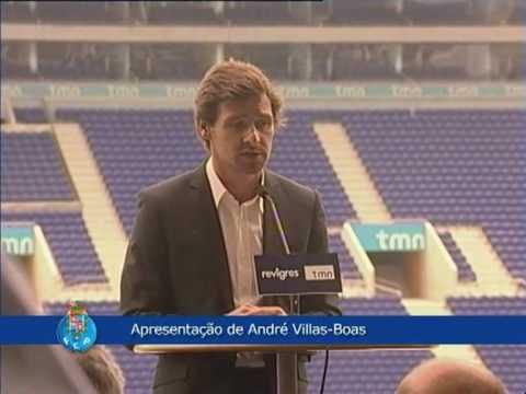Apresentação de André Villas-Boas no FC Porto