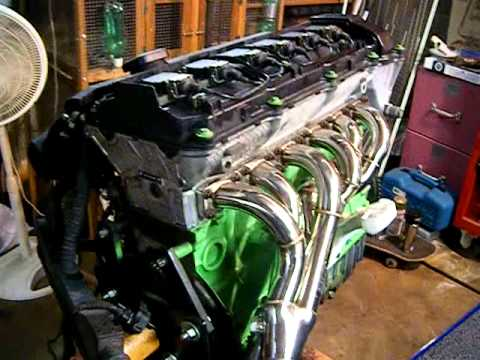 Bmw E30 Middle Of Engine Swap Youtube