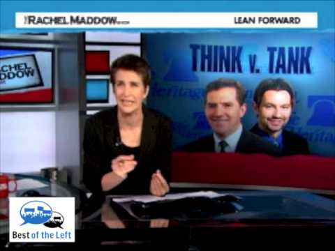 """The Heritage Foundation Tries to Kill Immigration Reform with """"Research"""" - Rachel Maddow"""