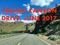 Canyon Road Drive near Ellensburg, WA June 11, 2017