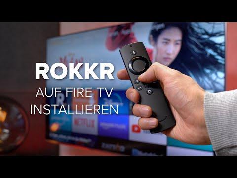 Rokkr auf Fire TV Stick: So wird die Streaming-App installiert (deutsch)