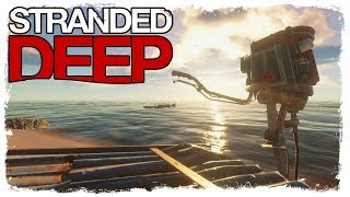 Stranded Deep | BUILDING A RACE BOAT | Lost In Paradise Ep.7