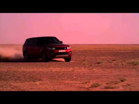 New Range Rover Sport Sets Record Time For  Empty Quarter  Desert Crossing