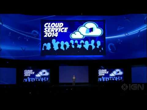 Sony Cloud Game Library - E3 2013 Sony Conference