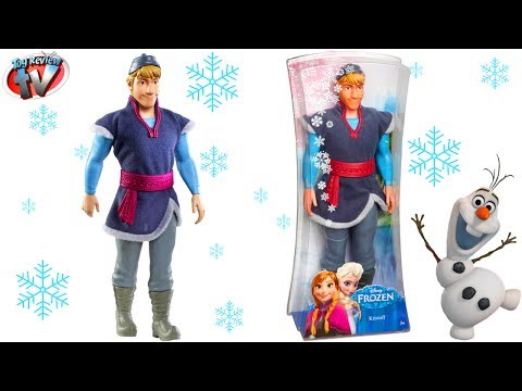 Disney Frozen: Kristoff Doll Toy Review. Mattel