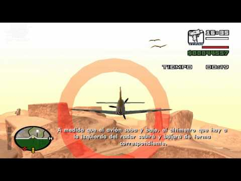 GTA San Andreas (PC) Learning to fly - Prueba #1: Avion: Despegue (Takeoff)