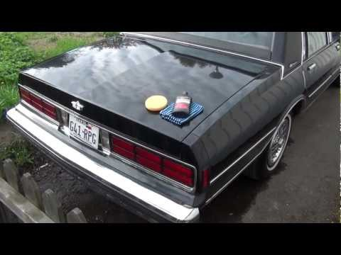 A simple test of Meguiars Ultimate Compound on my Chevrolet Caprice -90