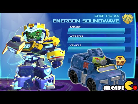 Angry Birds Transformers: Telepods Soundwave Auto Birds Gameplay Part 51 video