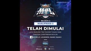 LIVE MPL Season 2 Onic Vs DT | 24 Juni 2018 | Mobile Legend Bang Bang Indonesia
