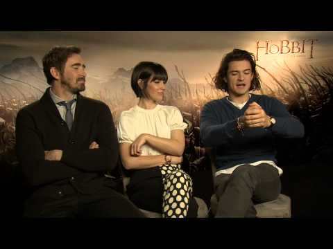 Lee Pace, Evangeline Lily, Orlando Bloom   Behind The Scenes with Scott Carty