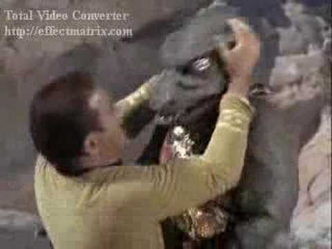 Bad Star Trek Fight Scene