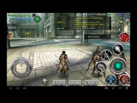 AVABEL ONLINE RPG android game first look gameplay español