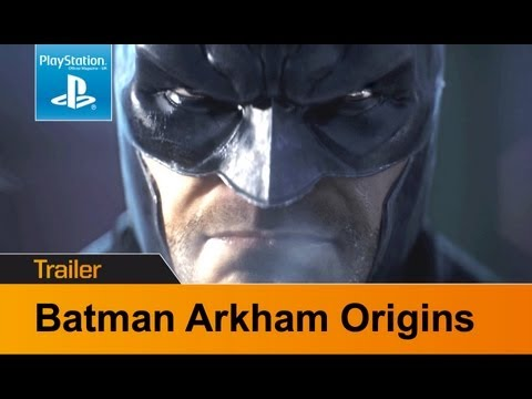 Batman Arkham Origins trailer - Bats vs Deathstroke