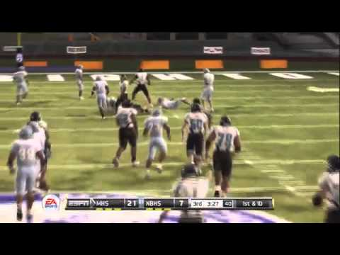 NCAA Football 12 - Road to Glory - QB Phillip Brooks [Episode 3] HS State Playoffs611