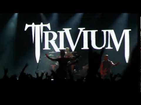 Trivium live Buenos Aires Argentina 9/11/2012 - Intro/In Waves/Pull Harder...