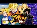 Goku & Vegeta VS Naruto & Sasuke | J-Stars Victory VS + (Duels)