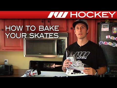 How to Bake Hockey Skates