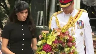 Duke & Duchess Of Sussex Attend Anzac Day Ceremony & Prince Harry Opens INVICTUS Games 2018