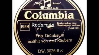 Fritz Grünbaum Erzählt Von Den Räubern   Fritz Grünbaum