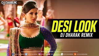 Desi Look (Remix) Ft. Sunny Leone - DJ Dharak | Harshil Palsana Visuals