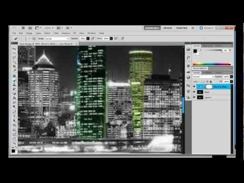 City Lights - Speed Art by Stickle