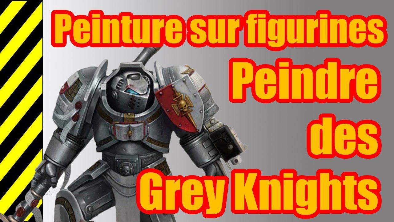 Tuto peinture sur figurines grey knights youtube - Peinture grey wash ...