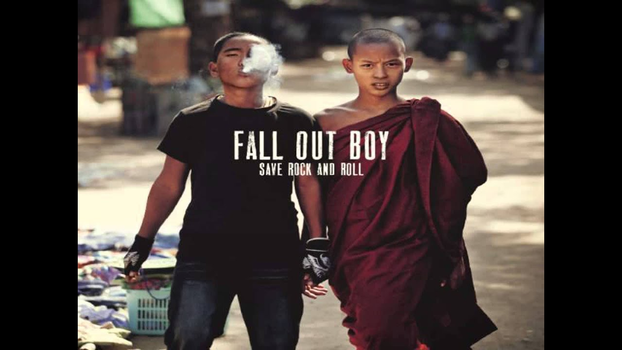 Just One Yesterday (feat Foxes) - Fall Out Boy - Save Rock ...