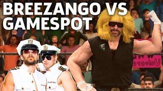 WWE 2K18 Gameplay: WWE's Breezango Battles GameSpot's Custom Wrestler